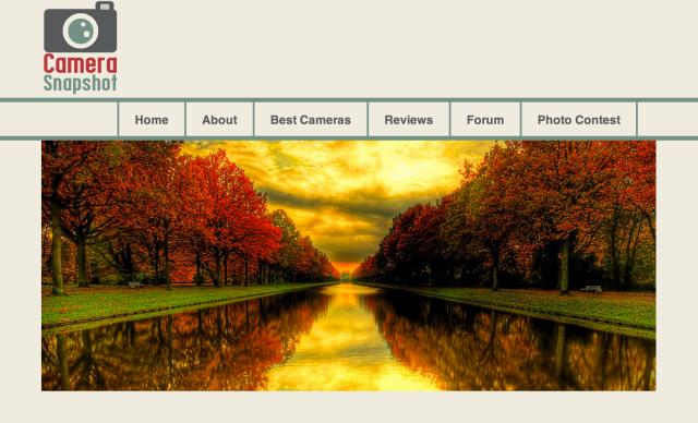 screenshot of 'Camera Snapshot' site